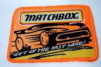 """MATCHBOX Cars Iron-On Collector Patch 4""""x 3"""""""
