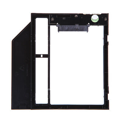 """9.5mm 2.5"""" SATA 2nd HDD SSD Hard Drive Caddy for Laptop CD/DVD-ROM Optical Bay"""