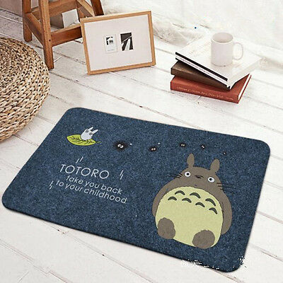 My Neighbor Totoro Carpet Footcloth Rub Ash Prevent Slippery Cos Gift MH