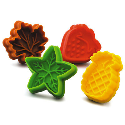NEW Kilo Fruit & Leaves Biscuit Cutter Set 4pce