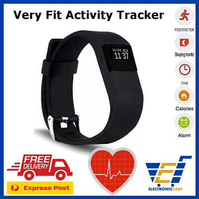 Smart Activity Tracker Wristband Fitbit Sport Style  With Heart Rate Tracker