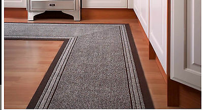 Heavy Duty Non-Slip Rubber Backed Hall Runners Long Narrow Carpet Rugs Mat