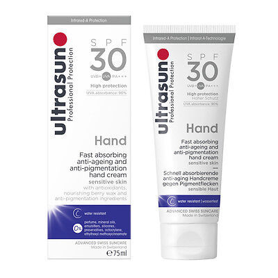 Ultrasun SPF30 Anti-Pigmentation Hand (75ml) | FREE Express P&P