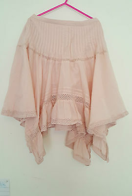 Girls Pink Gypsy Style Skirt @ Next! 100% Cotton. Excellent Condition. 6 Years.