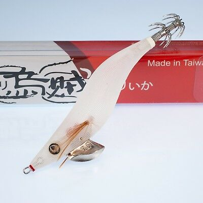 Rui Squid Jig The White Rattle Size 3.5