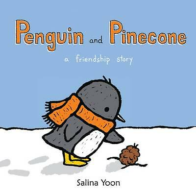 Penguin and Pinecone A Friendship Story by Salina Yoon NEW BOOK (Paperback 2012)