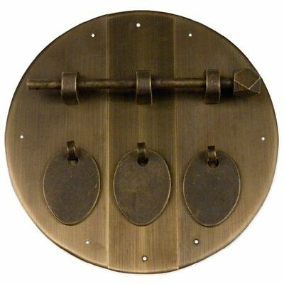 Triple Round Face Plate 6-1/4'', New, Free Shipping
