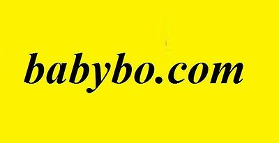 babybo.com Domain Name for Sale (baby babies kids clothing clothes) premium