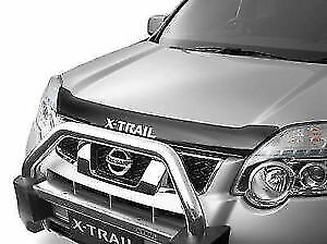 Nissan XTRAIL T31 2007-2013 GENUINE Bonnet / Bug Guard Protector - Dark Smoke