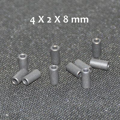 20pcs Ferrite Bead 4X2X8mm Toroide Core Coil Inductor Ferrous Ring Cables Filter