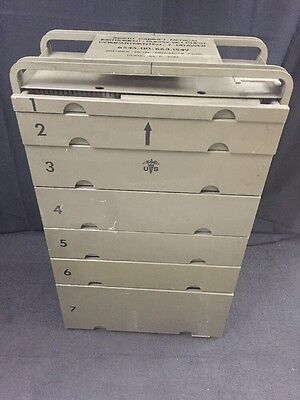 BRENNER METAL Medical Instrument & Supply Chest Insert 7 Drawer Compartmented