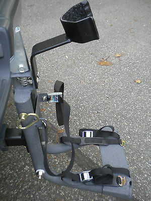 Segway Carrier Mounts on Car Trailer Hitch