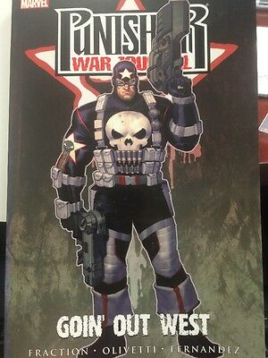 Punisher War Journal:  Goin Out West TPB 2008 VF/NM