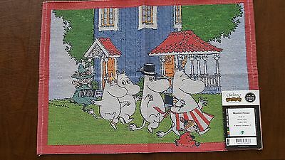 "100% Cotton Moomin House Small Table Square 14"" x 19"" by Ekelund"