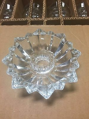 Lot of 43 Glass Candlestick Holders