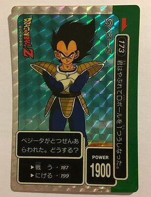 Dragon Ball Z PP Card Prism 173