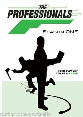 The Professionals Complete Season 1 Collection Comedy Series New Dvd Boxset R4