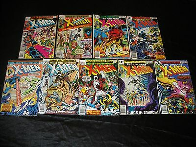 UNCANNY X-MEN 93 108 109 1st VINDICATOR 110 111 116 118 119 120 1st ALPHA FLIGHT