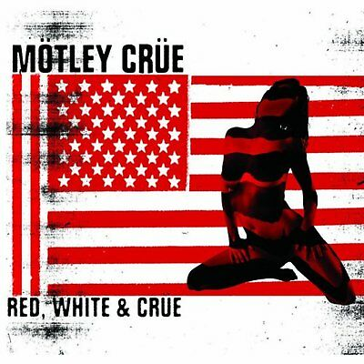 Motley Crue Red And White Greeting Birthday Card Any Occasion Album Official