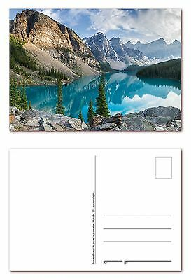 12 Stück Postkarten des Moraine Lakes in den Rocky Mountains (PKT-120)
