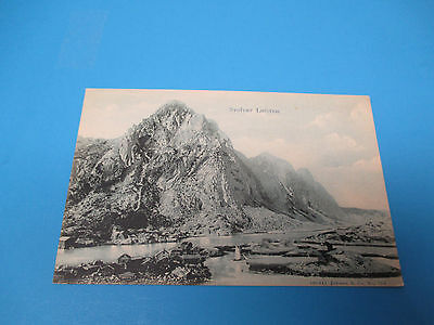 Svolvaer Loften Brevkort Fra Norge Unused Vintage Colorful Postcard PC22
