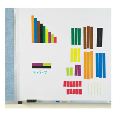 Learning Resources - Giant Magnetic Whiteboard Cuisenaire Rods Set -- LER7708