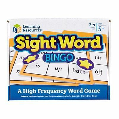 Beginner Sight Word Bingo - Learning Resources
