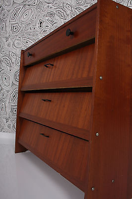60s shoe cabinet  SIDEBOARD  armoire à chaussures cassetino x scarpe a 60 P a60 • £126.00