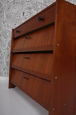 60s shoe cabinet  SIDEBOARD  armoire à chaussures cassetino x scarpe a 60 P a60