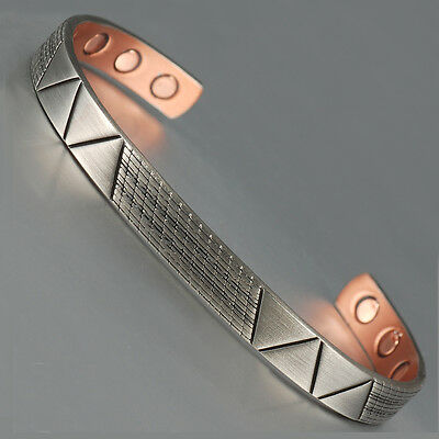 Magnetic Copper Bracelet Bangle Arthritis Magnetic Therapy Free Shipping - mp1