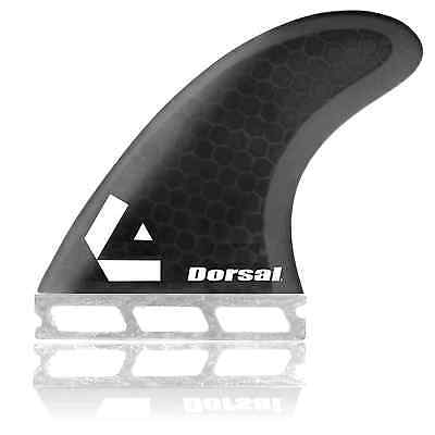Dorsal Performance Core (Hexcore) Thruster Surfboard Surf Fins Set (3) Honeycomb