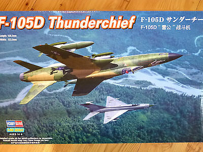 Hobbyboss 1:48 F-105D Thunderchief Aircraft Model Kit