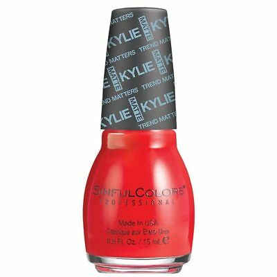 SINFUL COLORS KING KYLIE JENNER NAIL POLISH ALL 45 COLOURS £5.81 ea in pairs