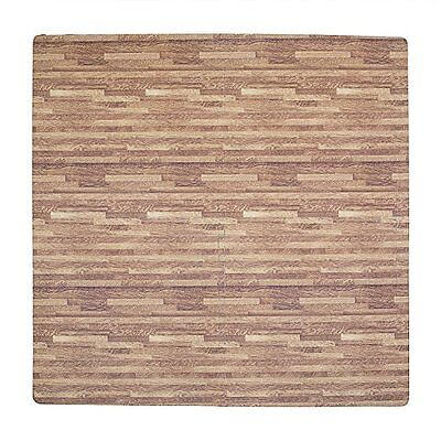 Tadpoles Wood Grain Playmat Set, Dark Oak