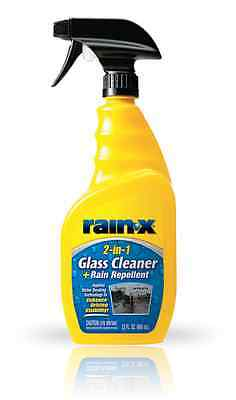 Rain-X 2 in 1 Glass Cleaner + Repellent Spray Bottle Car Care Product