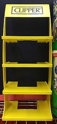 CLIPPER 4 Tier Stand Made in Spain High Quality YELLOW No Lighters Included