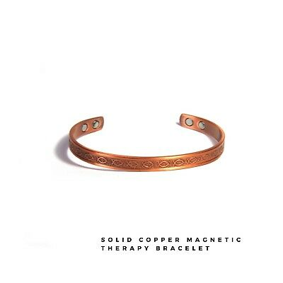 New Pure Copper Bracelet ARTHRITIS Aid HIGH QUALITY Copper Magnetic Bangle