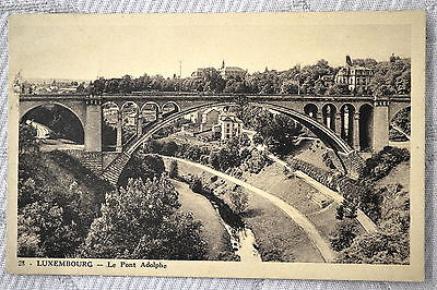 "CPA "" LUXEMBOURG - Le Pont Adolphe"