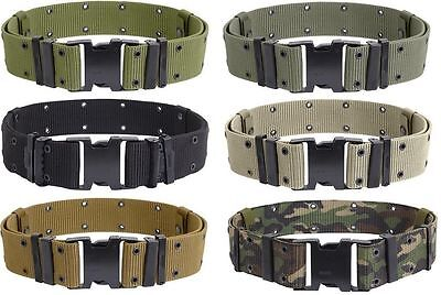 Pistol Belt Military Style Tactical Quick Release Nylon Pistol Web Belt you choo