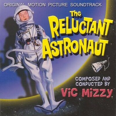 RELUCTANT ASTRONAUT Don Knotts CD Percepto VIC MIZZY Score SOUNDTRACK New OOP!