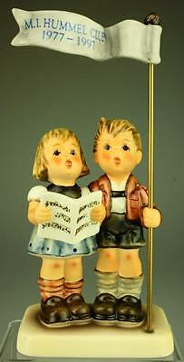 M.I. Hummel Goebel Celebrate with Song #790 TMK7 Figurine