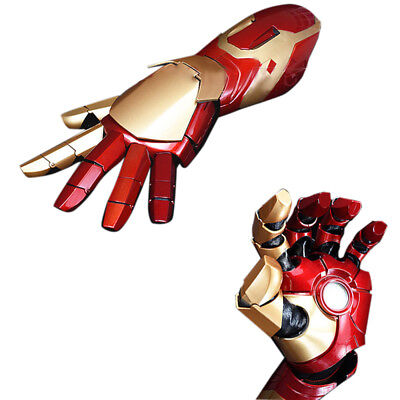 1:1 The Avengers Iron Man MK42 Sound& LED Lighting& Laser Gun Fore Arm Cos Props