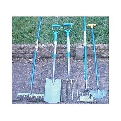 Garden Tools Gardening 5Pc Set Lawn Yard Patio Shovel Fork Rake Hoe Edging Spade