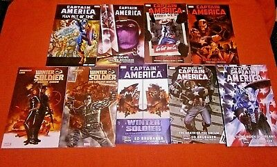 Captain America 1 -21 25 -36 606 -610 Winter Soldier 1 -9 Out Of Time 1 -6 Tpb 9