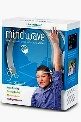 NEW NeuroSky Headset MindWave Single-Channel EEG Measurement Relaxation Kit NIB