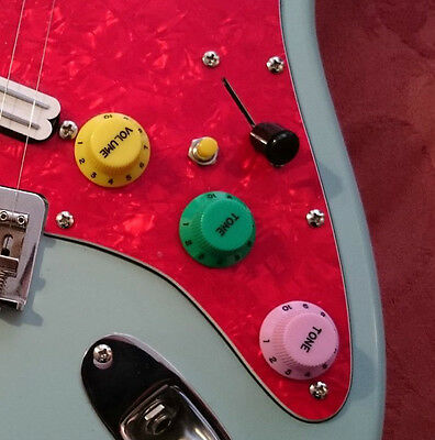 The 'Kill Switch' Kit for Electric guitars (3 Colours)