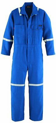 Workrite FR Flame Resistant 4.5 oz Nomex IIIA Industrial Coverall with Reflectiv