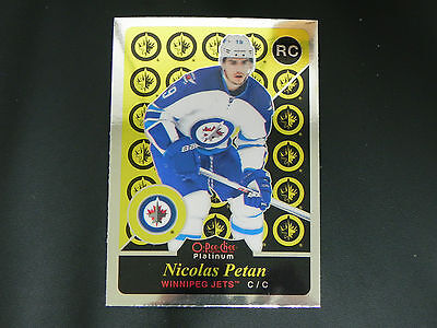 2015-16 OPC Platinum RETRO ROOKIE #R98 Nicolas Petan Winnipeg Jets RC