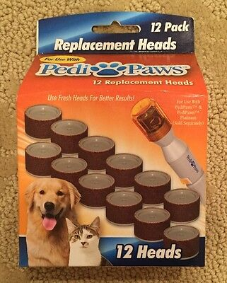 PediPaws 12 Replacement 12 pack  Emery Bands Pedi Paws Paw Pedipaw IN STOCK!