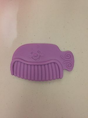Fisher Price Laugh and Learn Replacement Purple Comb for Pink Vanity EUC